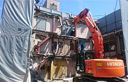 鉄骨解体工事 Iron frame demolition work
