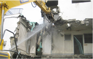 RC解体工事 RC demolition work